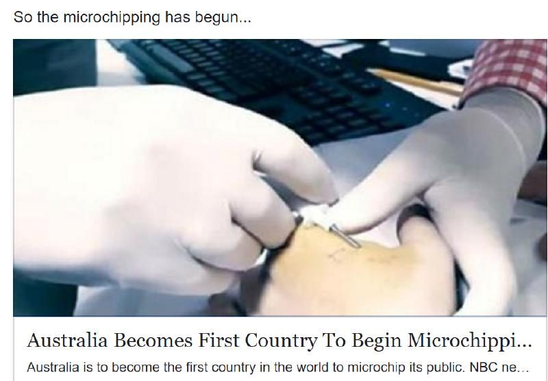 Australia Becomes First Country to Begin Microchipping Its