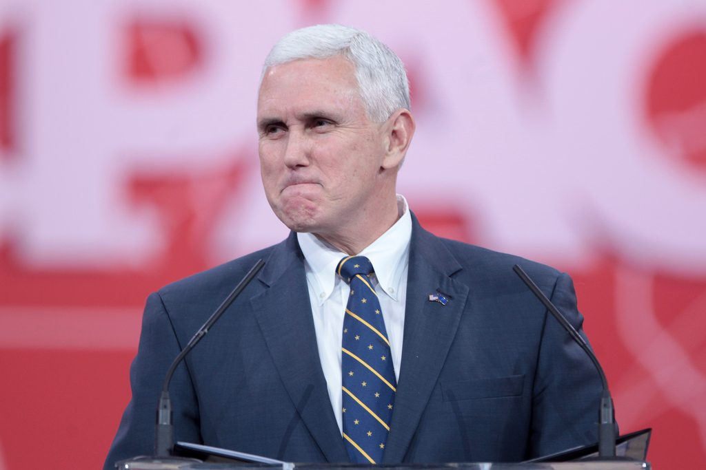 Does This Photograph Document Mike Pence S Gay Past