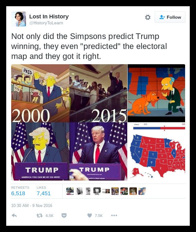simpsons electoral map