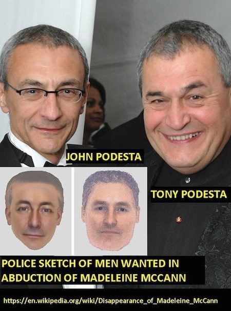 Tony Podesta Art >> Do Tony And John Podesta Match Madeleine Mccann Police Sketches