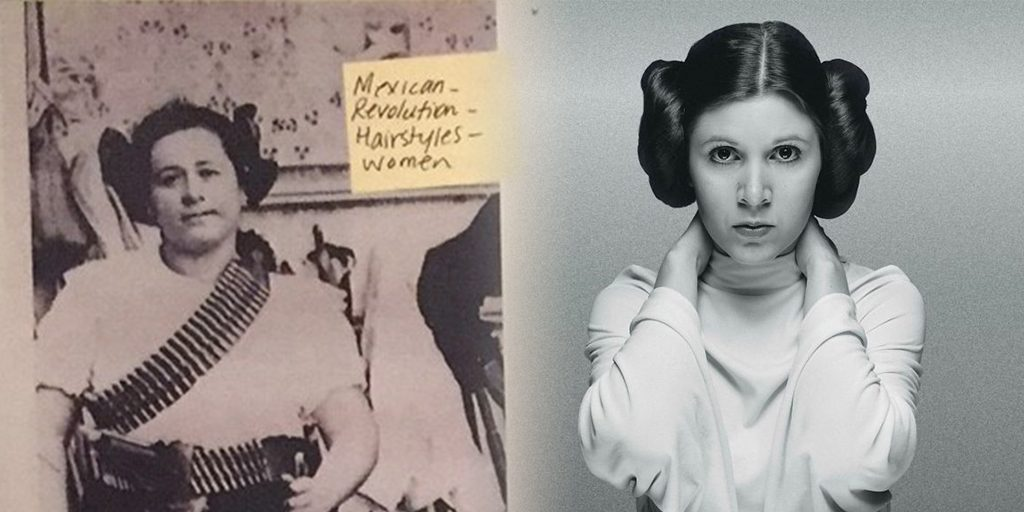 The Origins of Princess Leia's Hairstyle
