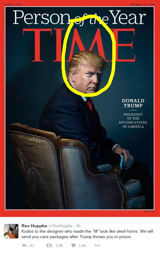 trump time cover