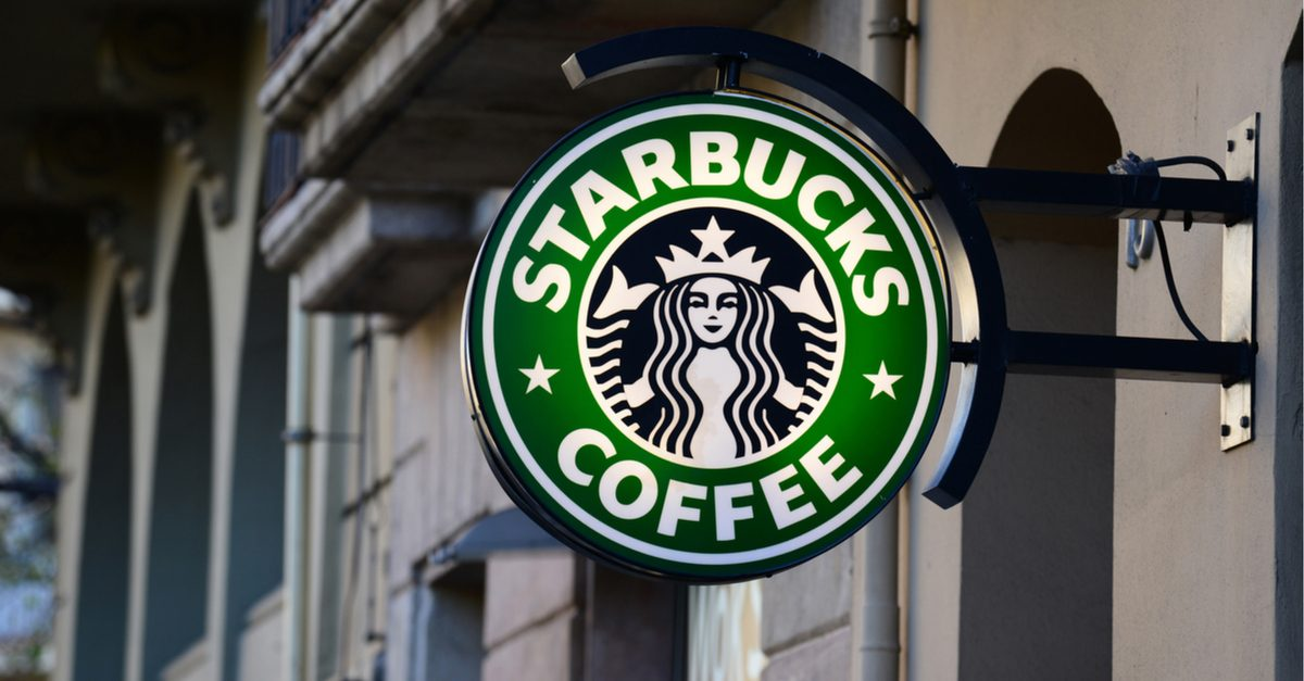 How to make a personal starbucks logo