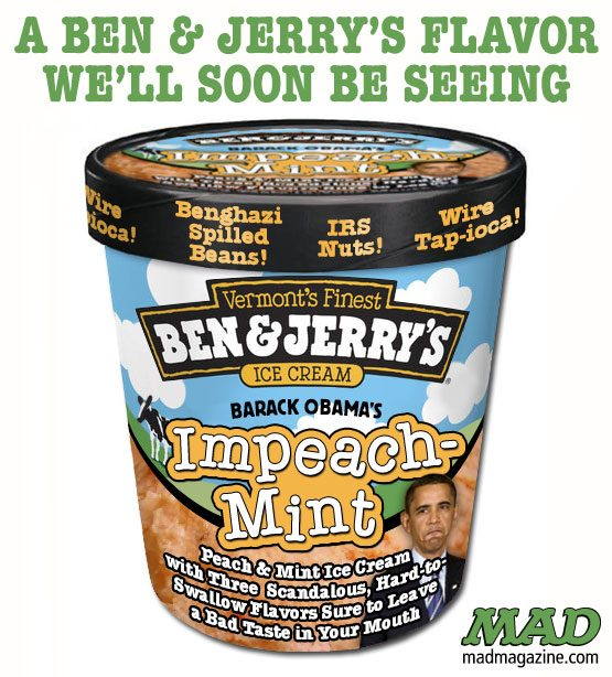 Fact Check Did Ben Jerry S Create An Impeachmint Flavored Ice Cream For President Donald Trump