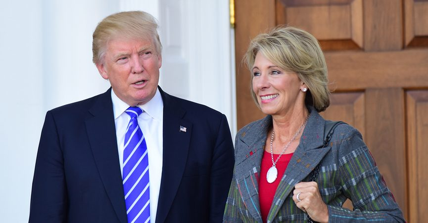 If Confirmed Betsy Devos Will Be >> Devos Family Campaign Contributions