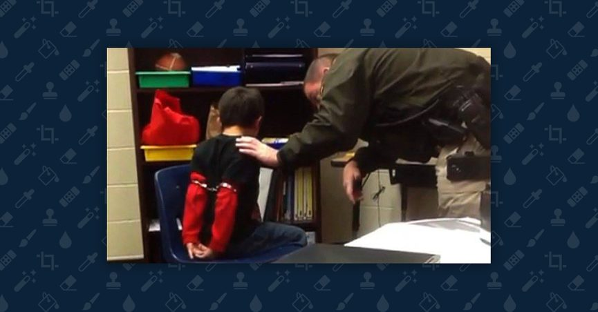 Handcuffing Little Kids May Not Be >> Was A Small Child Handcuffed At Dulles Airport Due To Entry