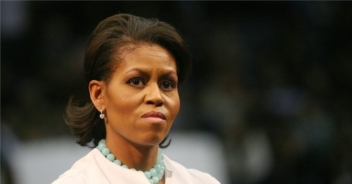Was Michelle Obama Arrested for Domestic Violence?