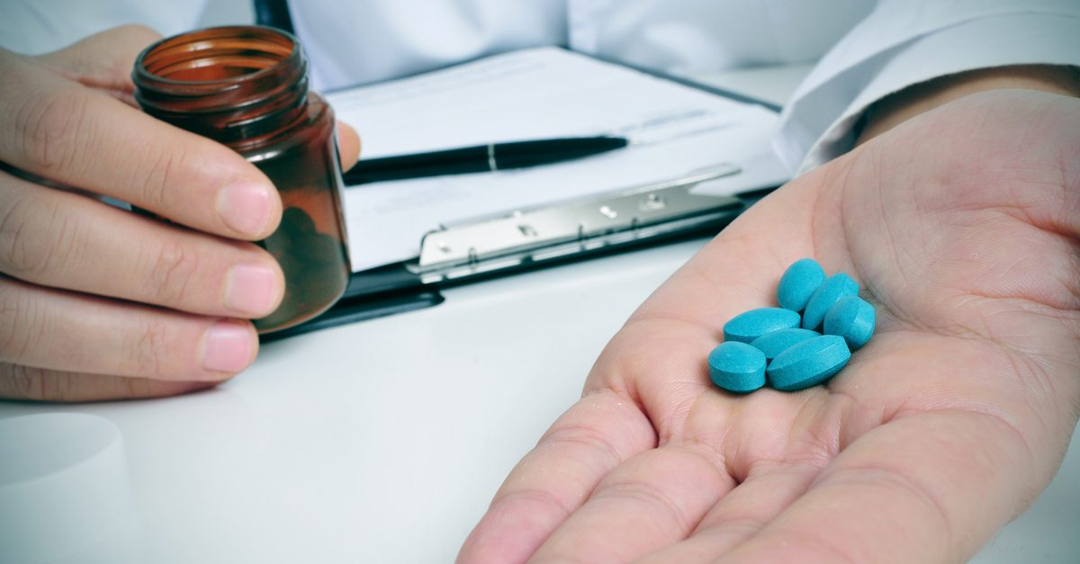 How to tell if a man is taking viagra