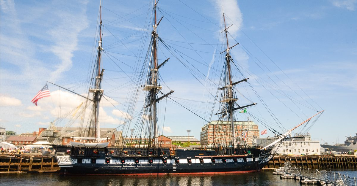 Three Sheets to the Wind: The Rum-Soaked Voyage of the USS Constitution