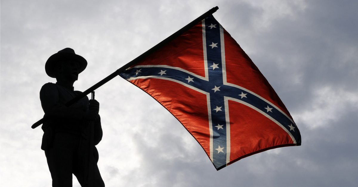 Fact Check Do The Confederate Battle Flags Colors Have Religious