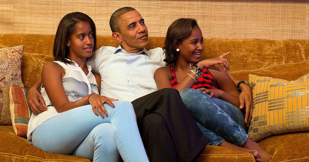 Fact Check Obamas Being Sued By Malia And Sashas Biological Father