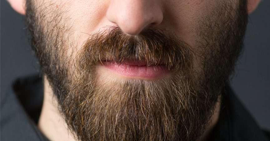 Close up of a bearded man
