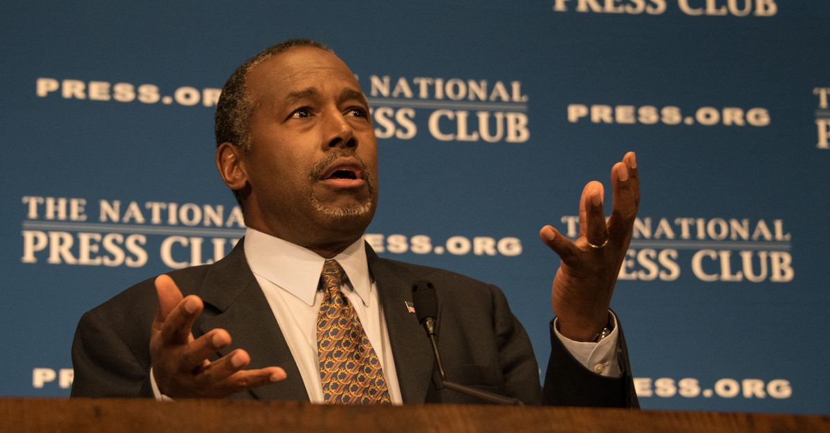 FACT CHECK: Did Ben Carson Discover $500 Billion in Accounting Errors at HUD?