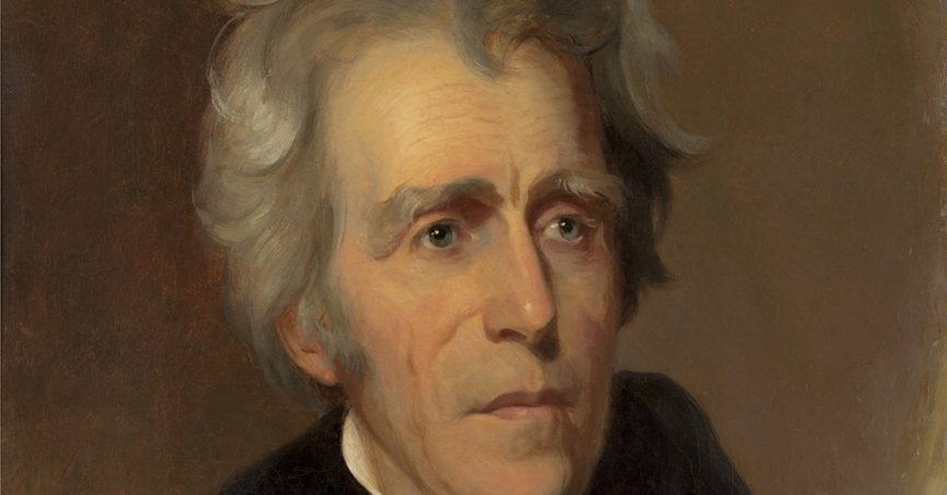Andrew Jackson, by Thomas Sully, 1845, American painting, oil on canvas