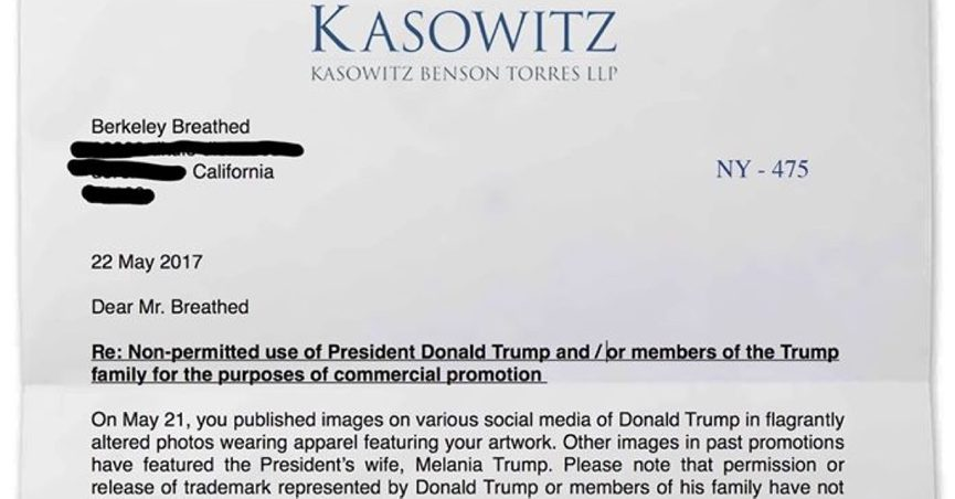 berkeley breathed trump letter