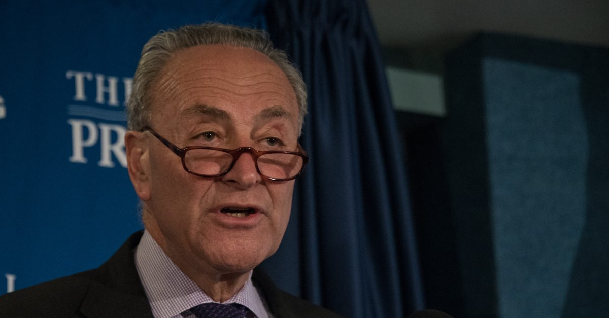 Is This a Real Letter from Trump to US Sen. Chuck Schumer? - snopes