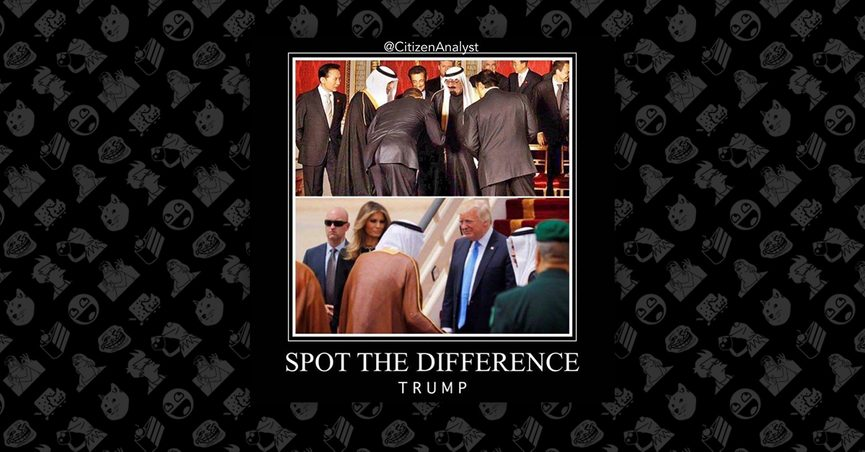 Who Bowed Memes Compare Trump And Obama During Saudi Arabia Visits