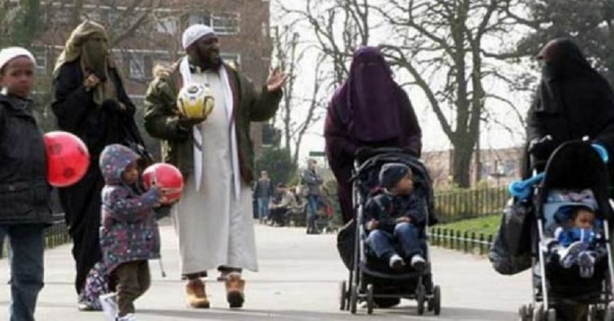 Image result for Germany: Muslim Refugee With 4 Wives And 23 Children Gets £320,000 In Benefits