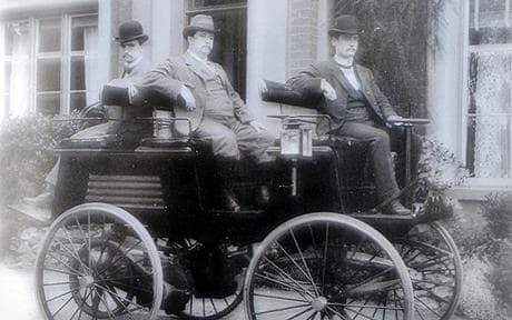 Detroit Electric, a vehicle produced by the Anderson Electric Car Company