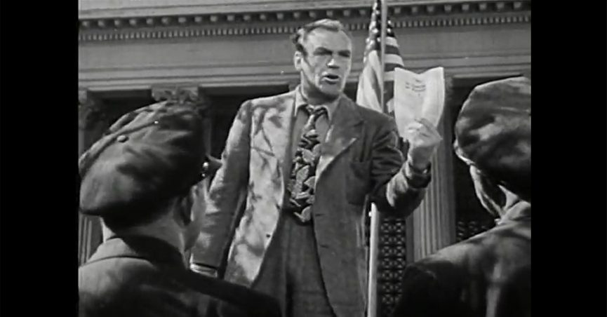 Did a 1940s U.S. War Department Film Compare Anti-Minority Hate Speech to Nazi  Propaganda?