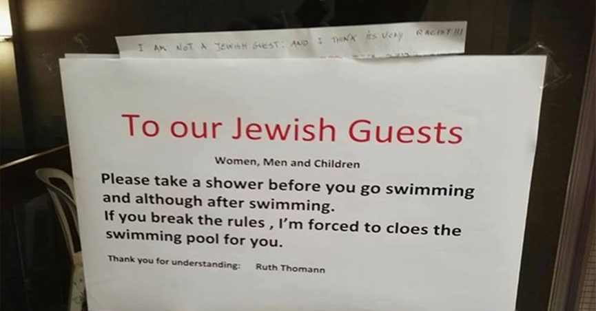 FACT CHECK: Did a Hotel Owner in Switzerland Ask Jewish