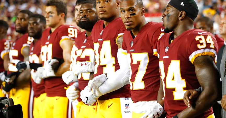 Don t Talk About Mom  NFL Players Angry over Trump s Insult 689fdbb10