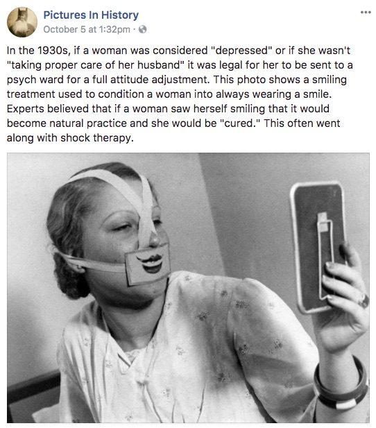 1930s woman smile pictures in history