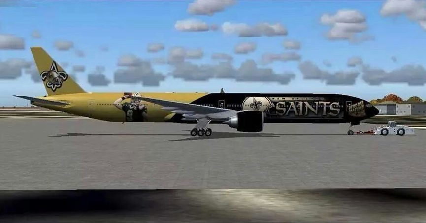 Flight Crew Takes A Knee And Walks Off, Leaving New Orleans Saints Stranded On Runway