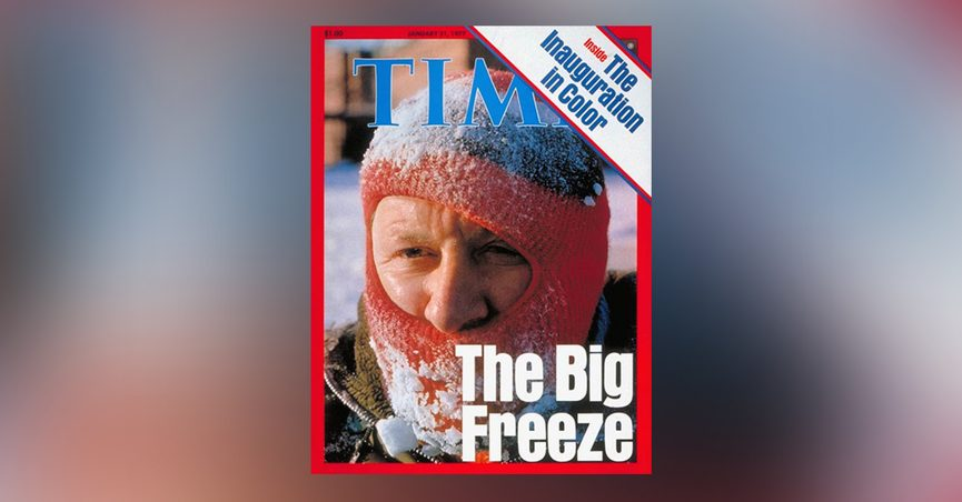 Is This Time Magazine Cover About Global Cooling