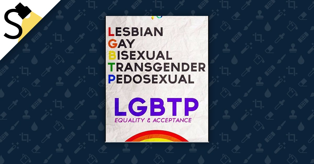 Fact Check Lgbtp No Lgbt Is Not Adding A P For Pedosexual