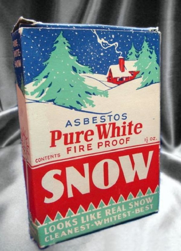 Fact Check Was Fake Snow Made From Asbestos Marketed As