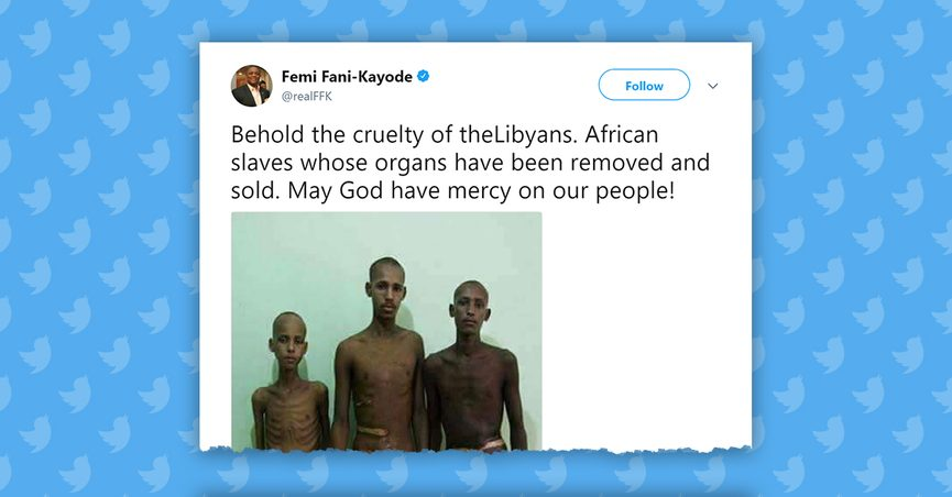 120a80e00 Are These Images of Tortured Nigerian Slaves in Libya