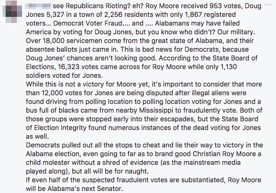 roy moore received 953 votes