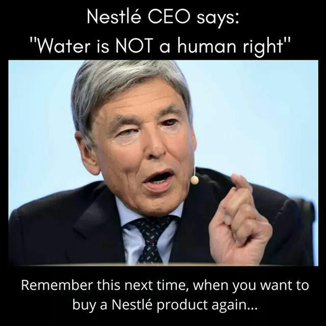 FACT CHECK: Did the CEO of Nestlé Say Water Is Not a Human Right?