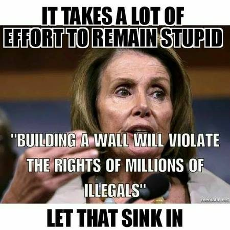 Fact Check Did Nancy Pelosi Say Building A Wall Will Violate The