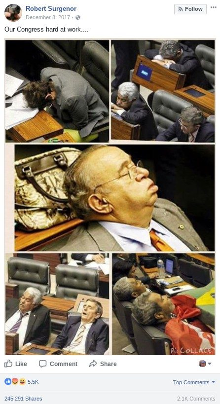 Image result for images, members of congress sleeping