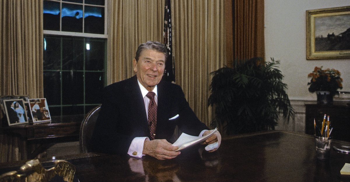 FACT CHECK: Did Ronald Reagan Try for Eight Years to Build a Border Wall?