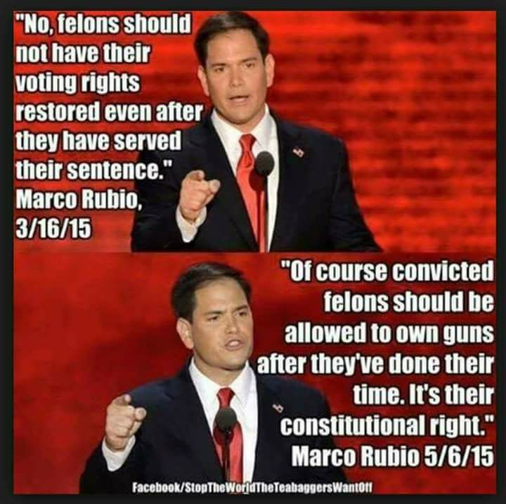 Marco Rubio Quotes | Fact Check Does Marco Rubio Want To Give Felons Right To