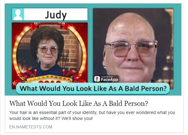 What Would You Look Like As A Bald Person?