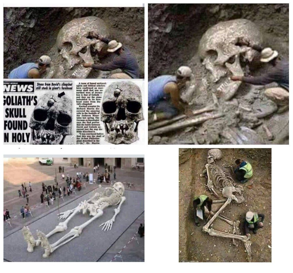 FACT CHECK: Is This 'Goliath Skeleton' Real?