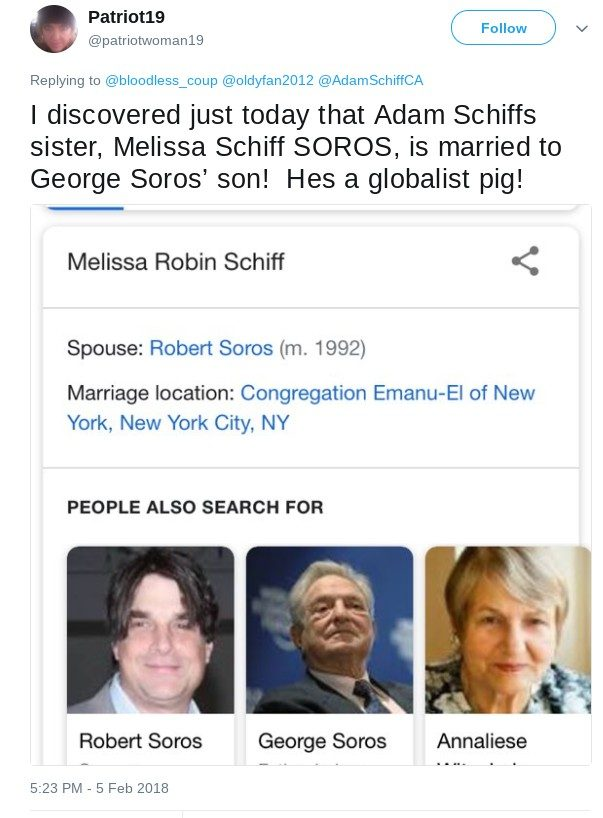 Image result for SNOPES ADAM SCHIFF