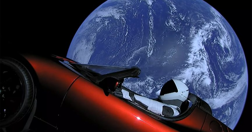 FACT CHECK: Is This Car Really in Space?