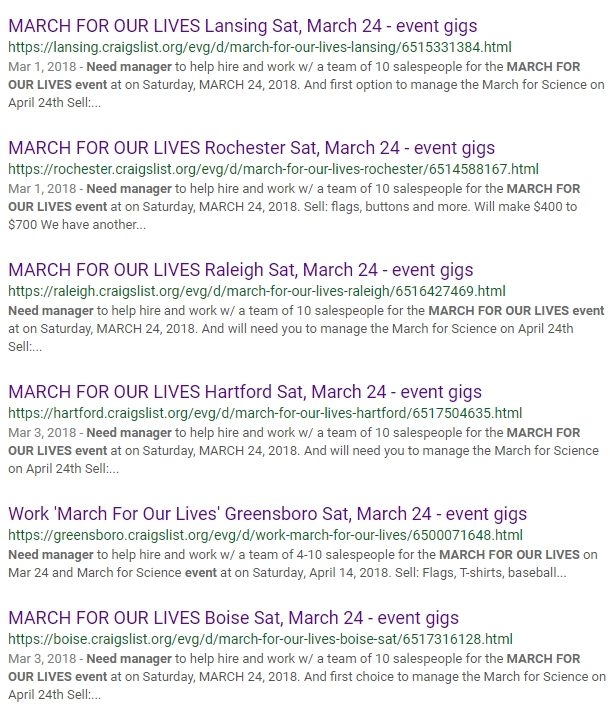 Fact Check Did George Soros Pay March For Our Lives Protesters