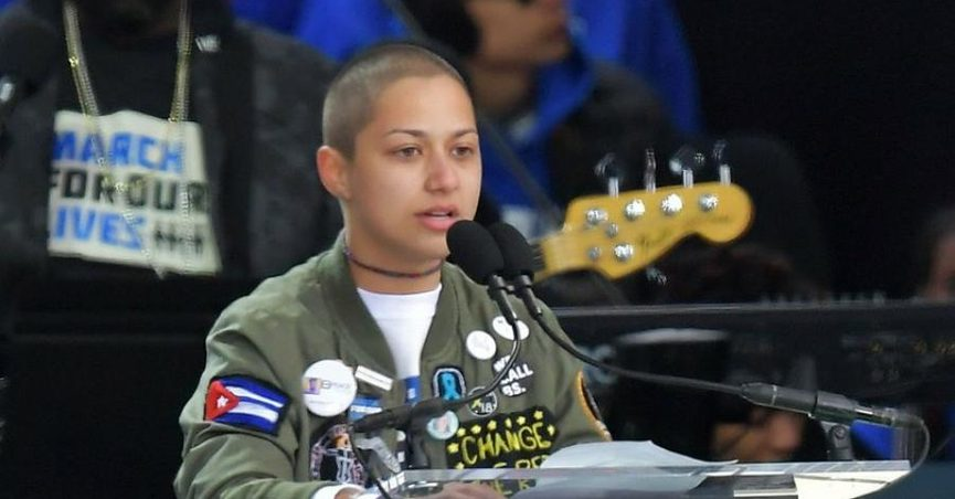 034dcabeb2778 Was Emma González Wearing a Cuban Flag Patch During Her  March for Our Lives   Speech