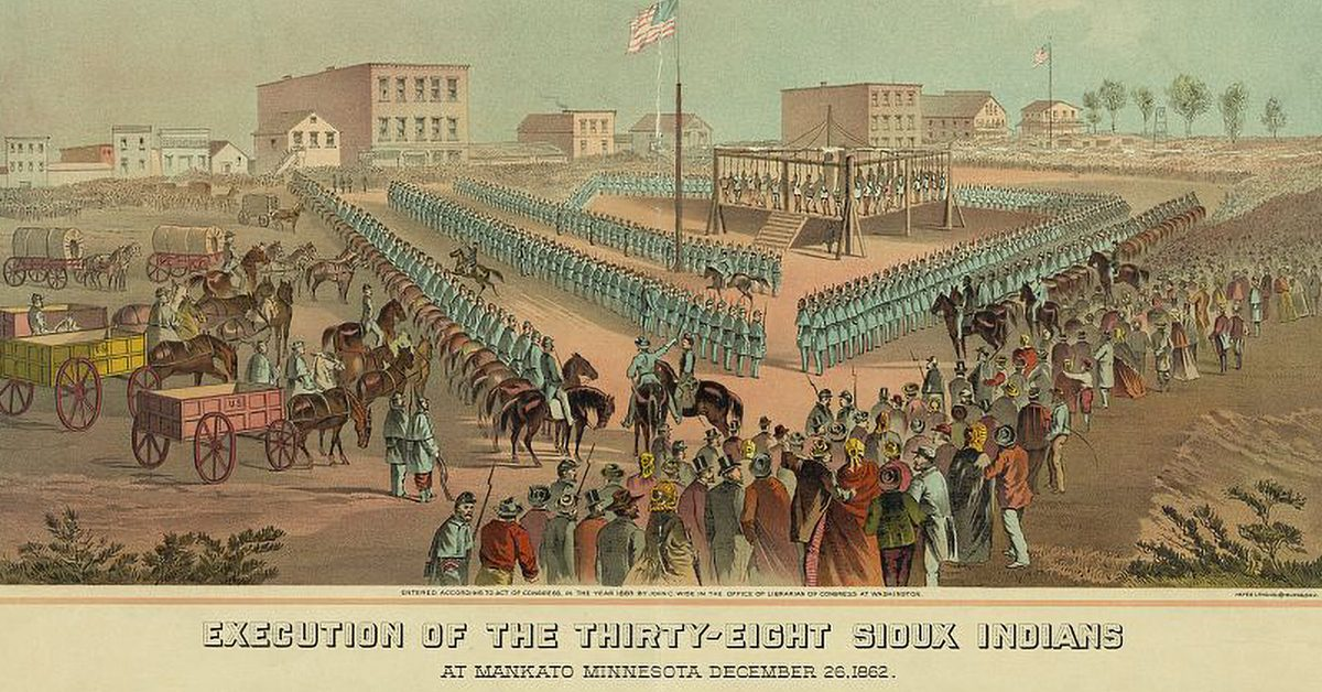 Did Abraham Lincoln Order the Execution of 38 Dakota Fighters?