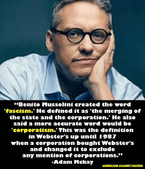 Fascism, Corporations, and Merriam-Webster