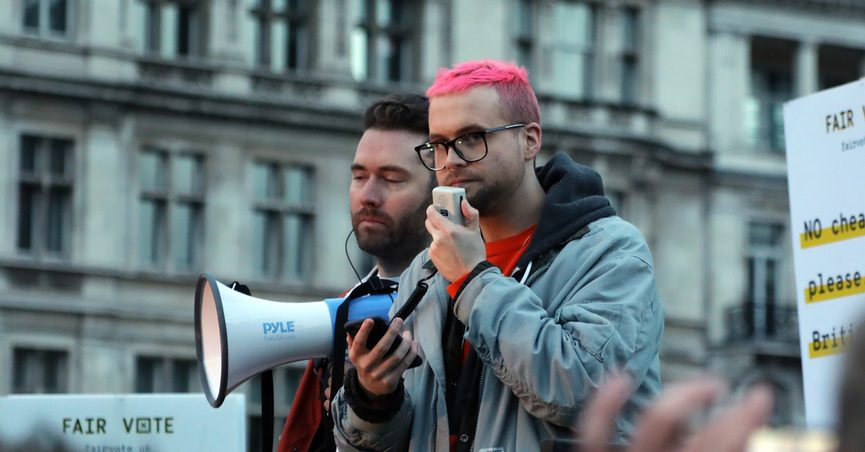 Christopher Wiley, Cambridge Analytica and Facebook whistleblower.