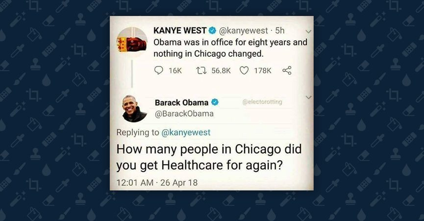 Fact Check Did Barack Obama And George W Bush Tweet Criticisms Of