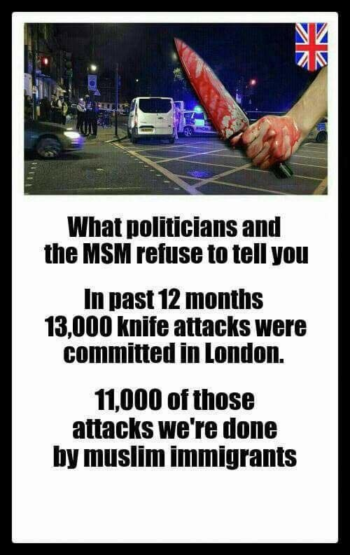 Did 'Muslim Immigrants' Commit the Most Knife Crimes in
