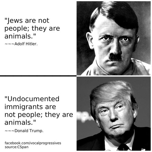 FACT CHECK: Did Trump Echo Hitler by Calling Undocumented Immigrants 'Animals'?